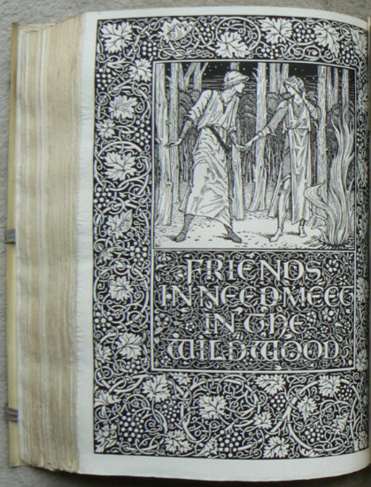 Kelmscott Press: The Well at the World's End