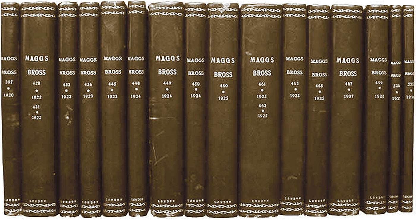Maggs Bros. Ltd.: Catalogues