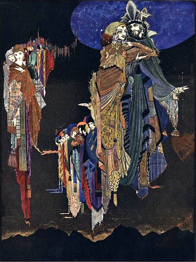 Edgar Allan Poe: Tales of Mystery and Imagination. Illustrated by Harry Clarke, 1923