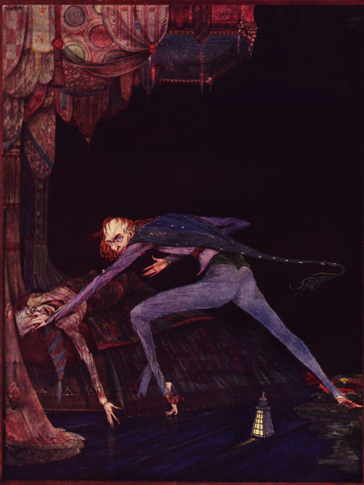Edgar Allan Poe: Tales of Mystery and Imagination. Illustrated by Harry Clarke