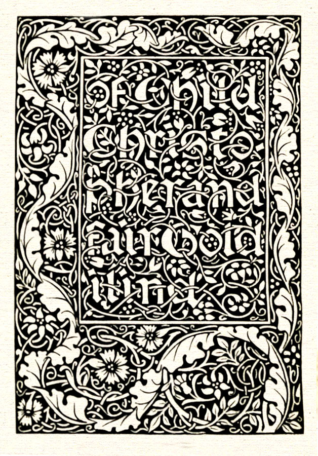 William Morris: Child Christopher and Goldilind the Fair, 1895