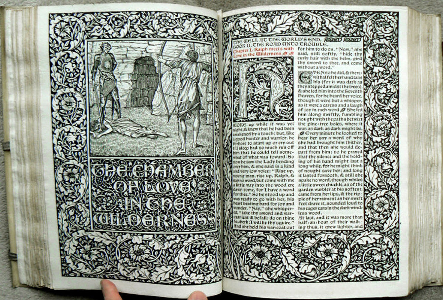 William Morris: The Well at the World's End
