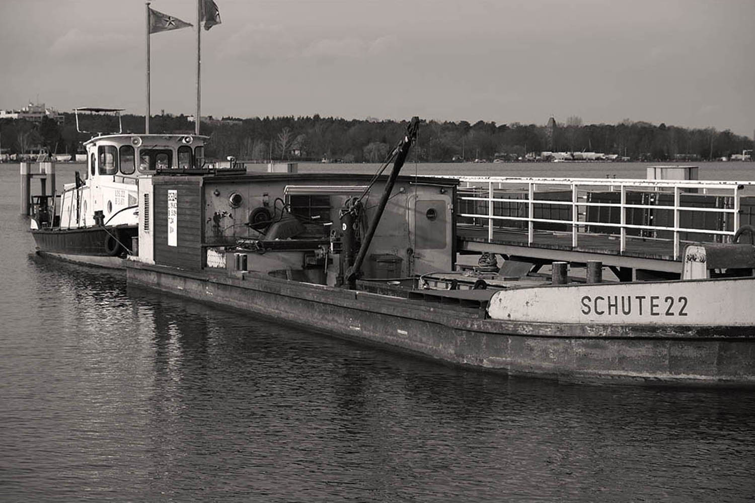 Berlin, Havel - Schute 22 | © Rainer Friedrich Meyer