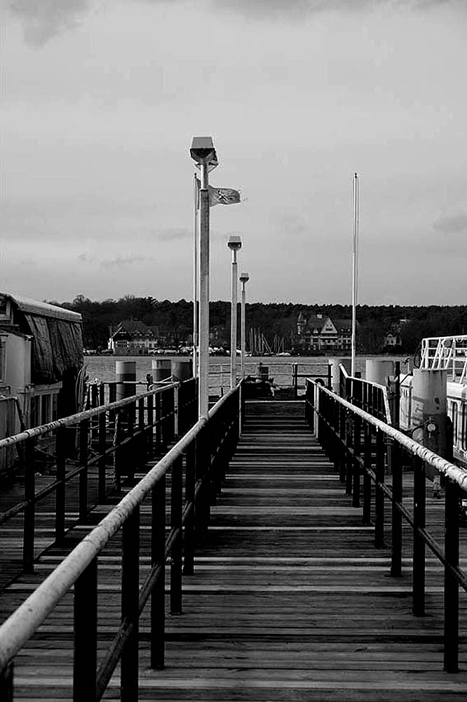 Berlin, Havel - Bootssteg am Wannsee | © Rainer Friedrich Meyer
